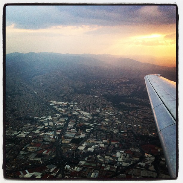 Touchdown in Mexico. Stay tuned for an upcoming post on the Mexico City ecosystem.